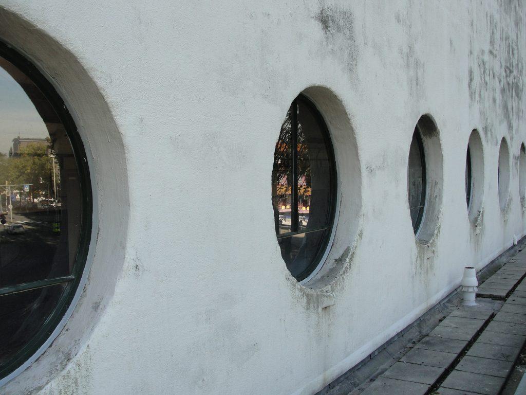 afdichten historisch ventilatietoren Maastunnel