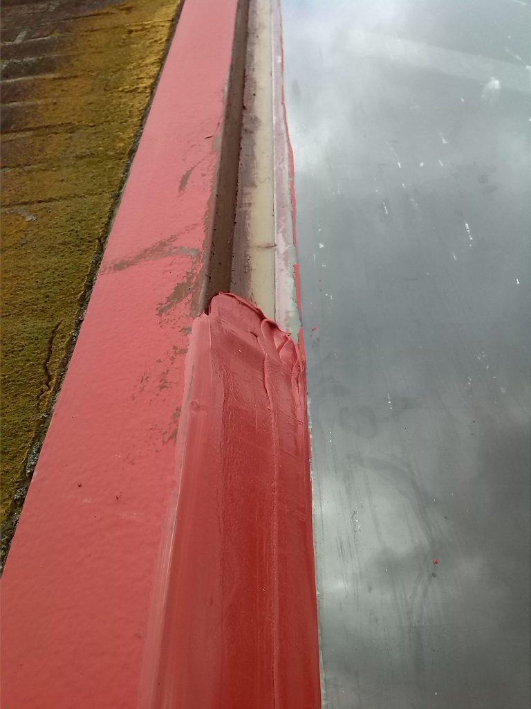 kitvoeg op kleur RDM Heiplaat