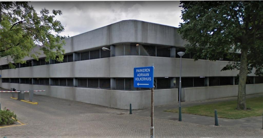 parkeergarage Adriaan Volkerhuis, volledig betonherstel incl. constructief